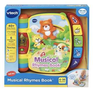 Brand New Vtech Musical Rhymes