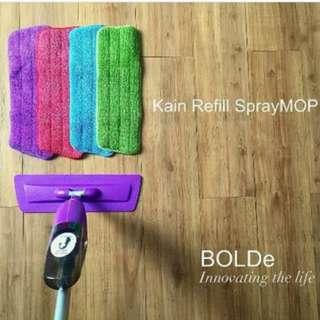 Spray Mop alat Pel semprot tersedia spraymop reffil kain