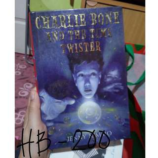 Charlie Bone and the Time Twister (Hardcover) - Jenny Nimmo