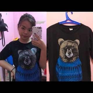 Bear Black Shirt