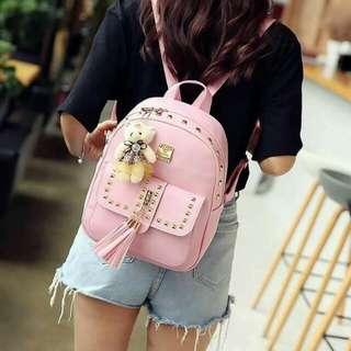 Korean backpack 4n1 size 31*24cm