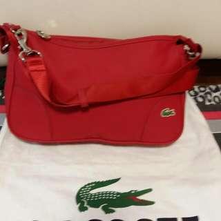 Graduation sale !!!Lacoste bag