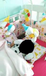 Baby Cot Bumper Set