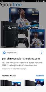 Ps4 Slim 500gb fifa bundle