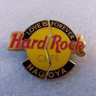"Hard Rock Cafe Pins ~ NAGOYA HOT & RARE 2002 VALENTINE'S DAY ""LOVE IS FOREVER""!"