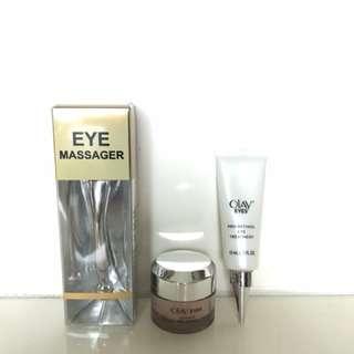 Olay eyes cream & massager