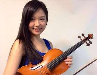 全職小提琴violin女導師🎻 美國華盛頓大學畢業全職小提琴女導師