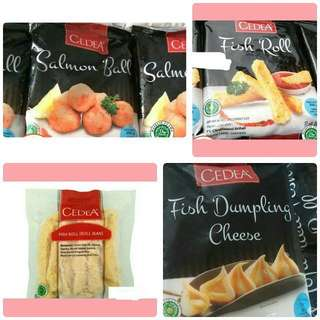 Frozen food nugget dan lain-lain