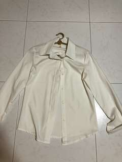 White Formal/Casual Blouse