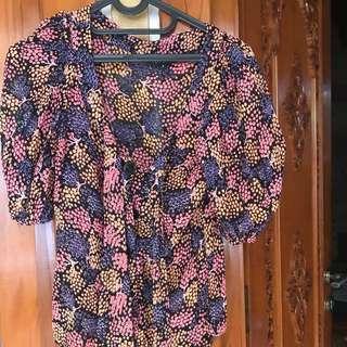 Topshop blouse size 6