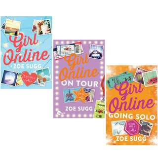 Girl Online Series by Zoe Sugg.