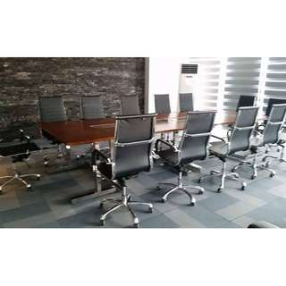 Highback cHair Executive chair Leatherette chrome Legs
