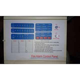 GoalStar Fire Alarm Control Panel 8zone