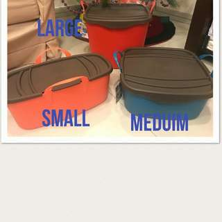 Rush Sale Plastic Organizer With Cover