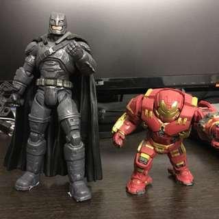 Batman蝙蝠俠+q版hulk buster