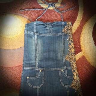 Terusan jeans Guess original