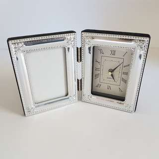 Small Clock Photo Frame