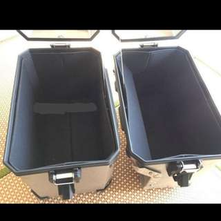 BMW R1200 GSA boxes cushion