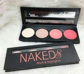 Naked 8 Highlighter & Blusher