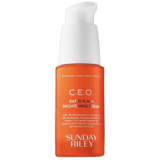 Sunday Riley CEO Rapid Flash brightening serum full size 30ml