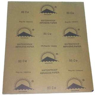 GOLDEN SUN sand paper no. 80 price per piece