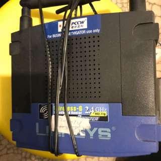 linksys 2.4G rounter (not ac rounter)