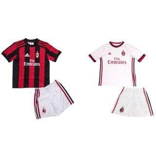 17/18 AC Milan kids jersey