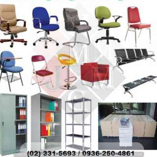 office desk.chairs.filing cabinet - office furniture -