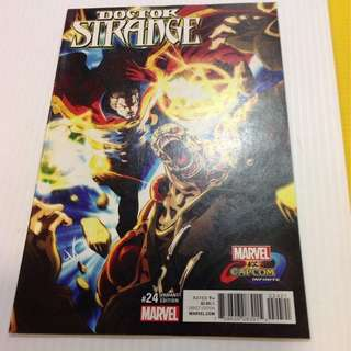 Doctor Strange 24 Capcom Variant