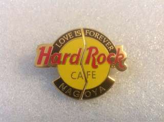 "Hard Rock Cafe Pins - NAGOYA HOT & RARE 2002 VALENTINE'S DAY ""LOVE IS FOREVER""!"