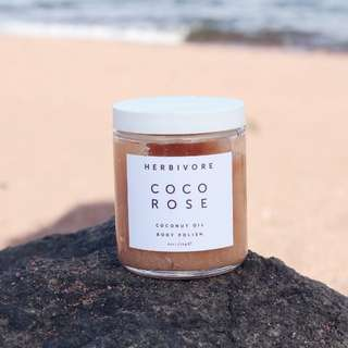 HERBIVORE BOTANICALS Coco Rose - Coconut Oil Body Polish