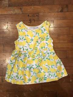 Gingersnaps dress for 9-12 month baby girl