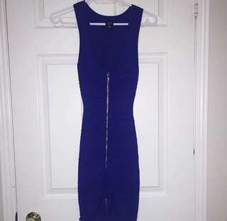 Brand new royal blue dress from BEBE