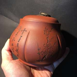手工紫砂茶葉罐