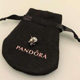 PANDORA Silver Bunny Charm