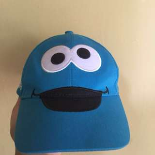 Topi cookie monster