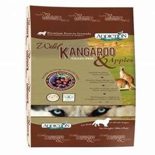 Addiction Wild Kangaroo and Apples (for Dog) 4 lb