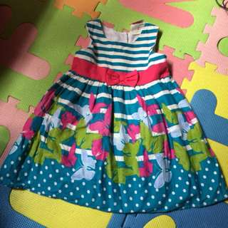 Baby dress 1-2 years old once used