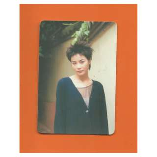 2742-YC-YES CARD-王靖雯,背面曲詞-回憶是紅色天空