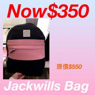 Jackwills School Bag 😍100%New