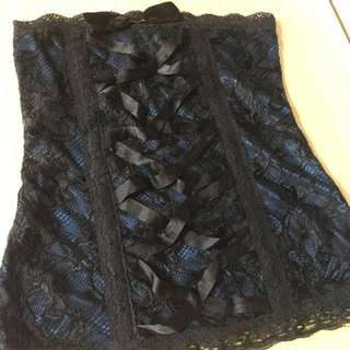 NEW Future State Black lace tube top