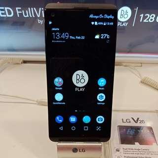 LG V20 Smartphone, Kredit Tanpa Kartu Kredit Promo Dp 15% Dan Cash Back 1 JUTA