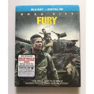 Fury Blu Ray