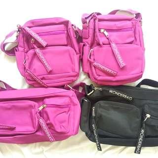 100%New Wonderbag London 旅行斜揹袋辦