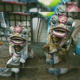 Patung barongsai wong fei hung tim nari