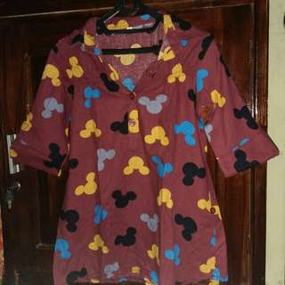 Baju mickey mouse