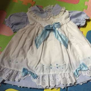 Baby double dress 1-2 yrs old