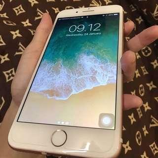 Iphone 7+ 128GB Rosegold