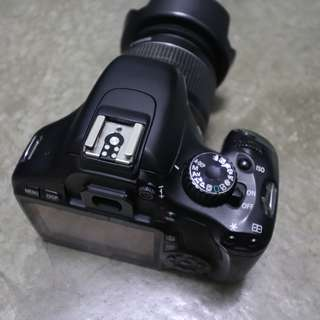Canon 550d + 18-55mm kit lens