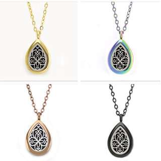 New design - Aromatherapy Stainless Steel Essential Oil Diffuser Locket With Necklace